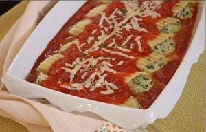 132 300x192 Manicotti com queijo e espinafre