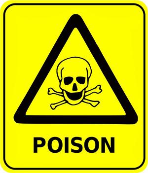 45 Cuidado: não venenoso!