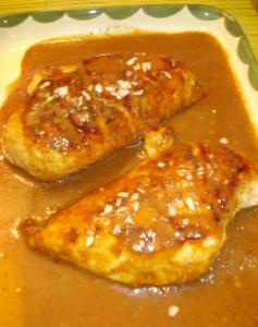 peito de frango com mostarda 237x300 Peito de frango com mostarda