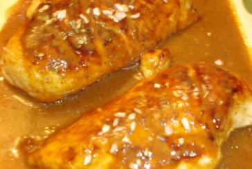 Peito de frango com mostarda