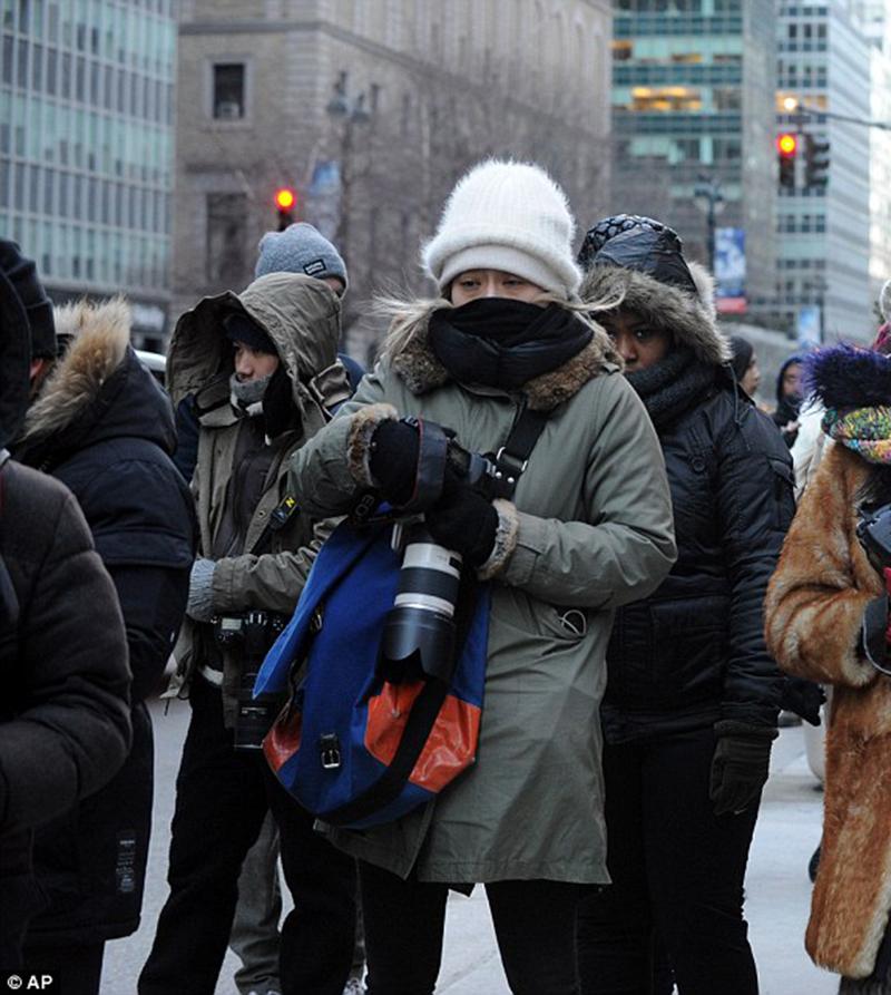 Foto18 Dia frio NYC New Jersey pode ter frio recorde no final de semana