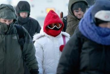 New Jersey teve passagem de ano mais fria da história