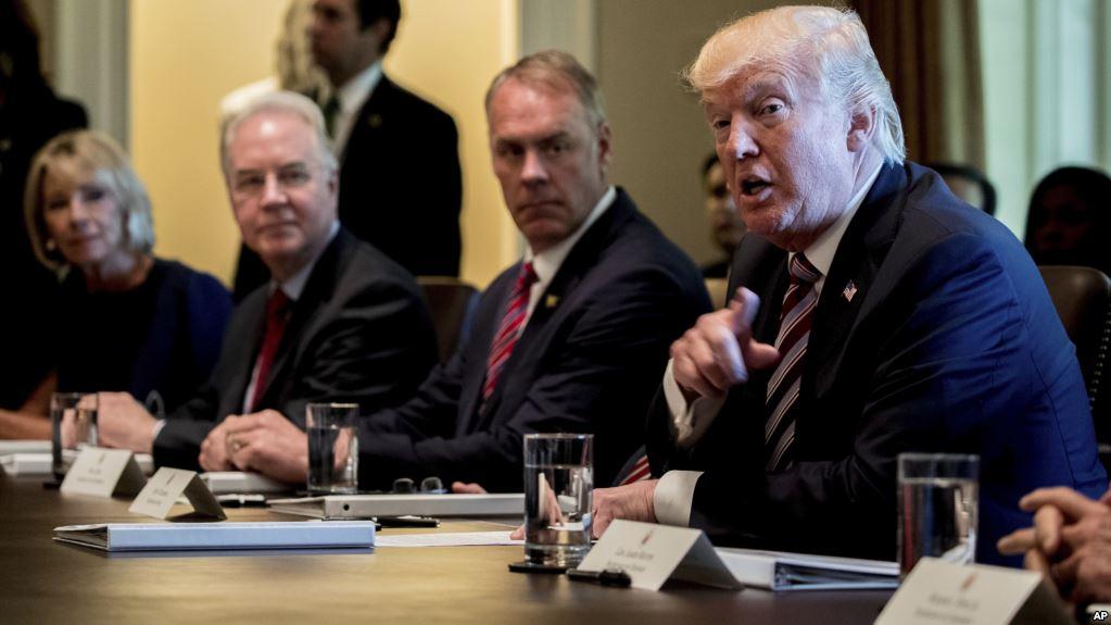 Foto31 Donald Trump  Casa Branca anuncia acordo bipartidário para reforma na imigração