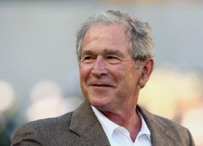 Foto9 George W. Bush  Bush defende presença de imigrantes nos EUA
