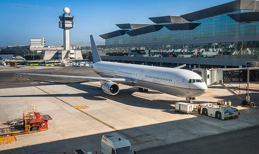Foto3 Aeroporto Internacional de Guarulhos Brasileira é presa por causar tumulto em voo