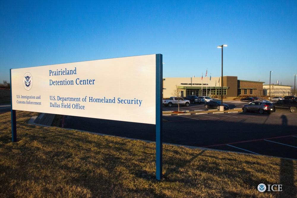 Foto4 Prairieland Detention Center  Morre na prisão imigrante sob a custódia do ICE