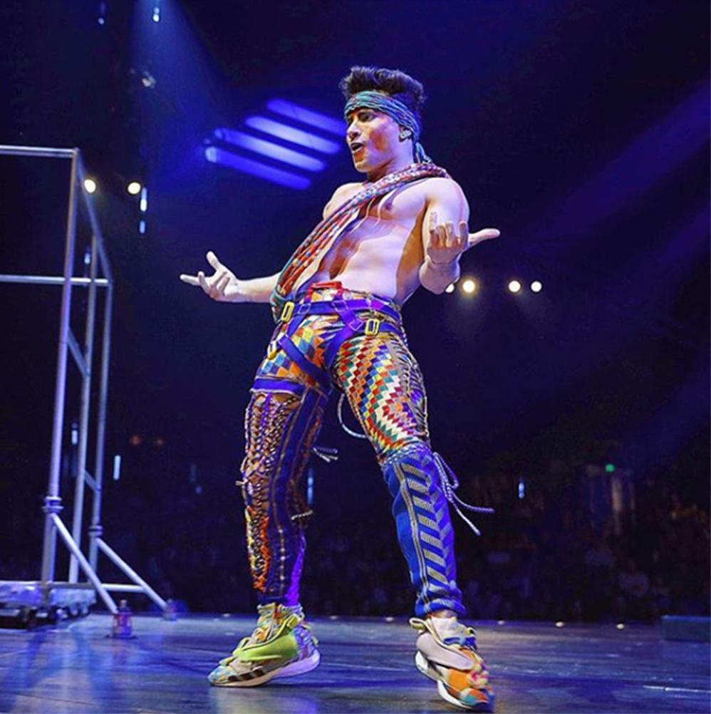 Foto7 Fred Oliveira  Ex ginasta brasileiro é estrela no Cirque du Soleil