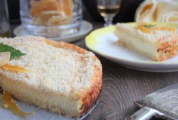 Cheesecake de queijo cottage com iogurte