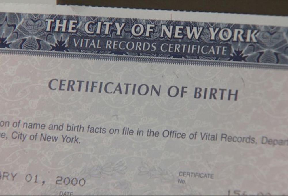 Foto10 Certidao de Nascimento NYC NY: Prefeitura aprova proposta de 3º sexo em certidões