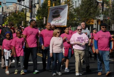 "Amador promove passeata ""Walk for the Cure"" no Ironbound"