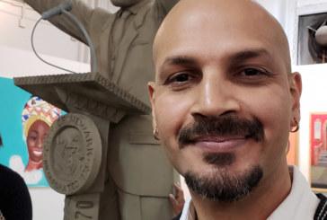 Brasileiro esculpe estátua de 1º prefeito negro de Newark