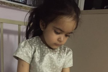 Brasileirinha procura doador na luta contra síndrome rara
