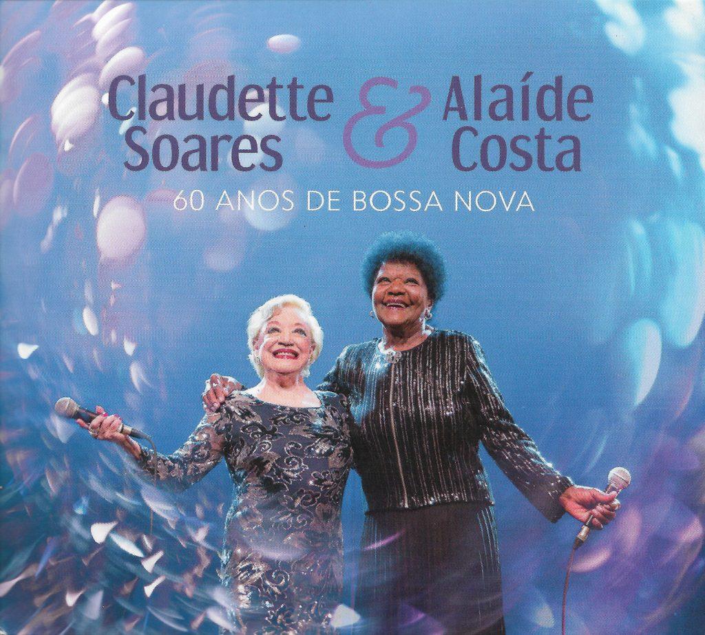 Capa CD Claudette Soares Alaide Costa Duas cantoras magníficas