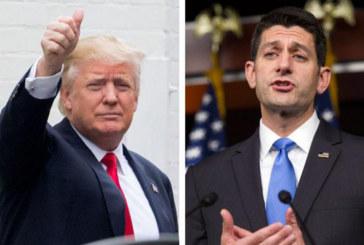 Ryan: Trump não pode cancelar cidadania automática