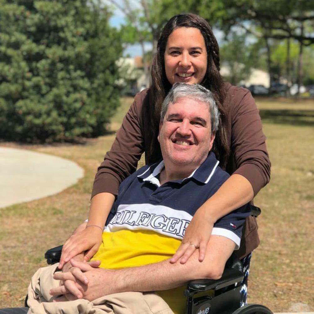 Foto34 Nathaniel Nogueira e Daniela Jacobina Brasileiro luta contra a Esclerose Múltipla na Flórida