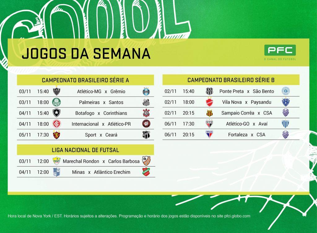 PRINT NY 2 a 8 nov Palmeiras defende a liderança diante do Santos