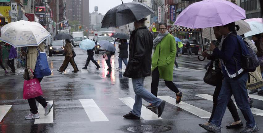 Foto1 Dia chuvoso  Frente fria deixa NJ antes da chegada da chuva na quinta feira (24)