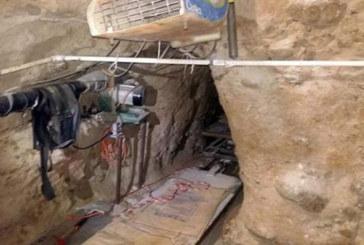 Patrulheiros encontram túneis na fronteira com o México