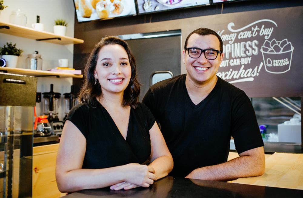 Foto13 Vanessa Oliveira e Ricardo Rosa Brasileiros lançam franquia de coxinhas em Nova York
