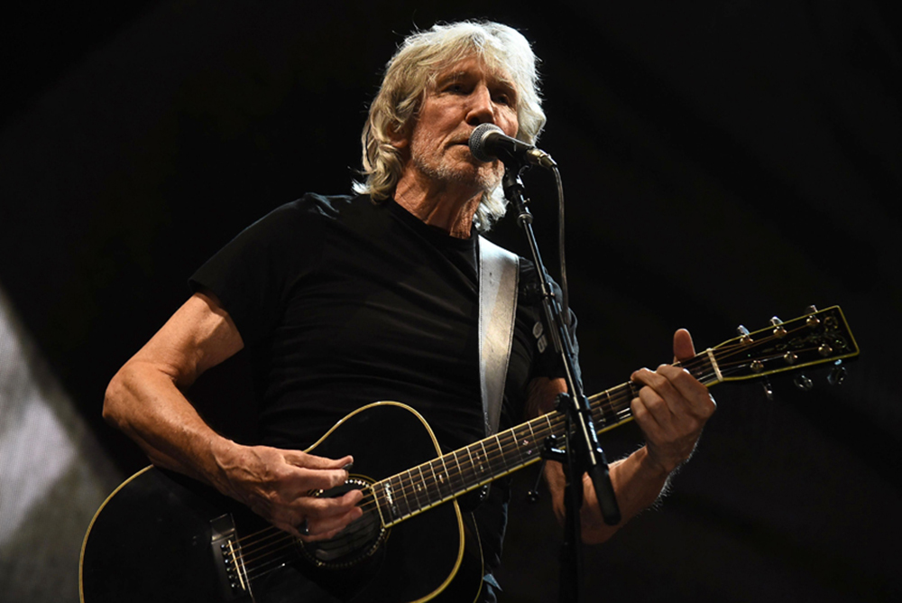"""Foto19 Roger Waters Pink Floyd quer cantar """"The Wall"""" na fronteira com o México"""