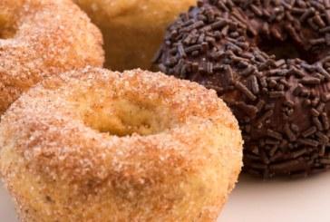 Doughnuts com farinha de chia