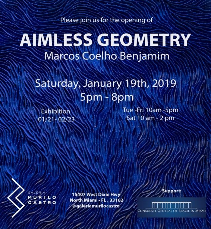 """Foto18 Aimless Geometry Brasileiro lança exposição """"Aimless Geometry"""" na FL"""