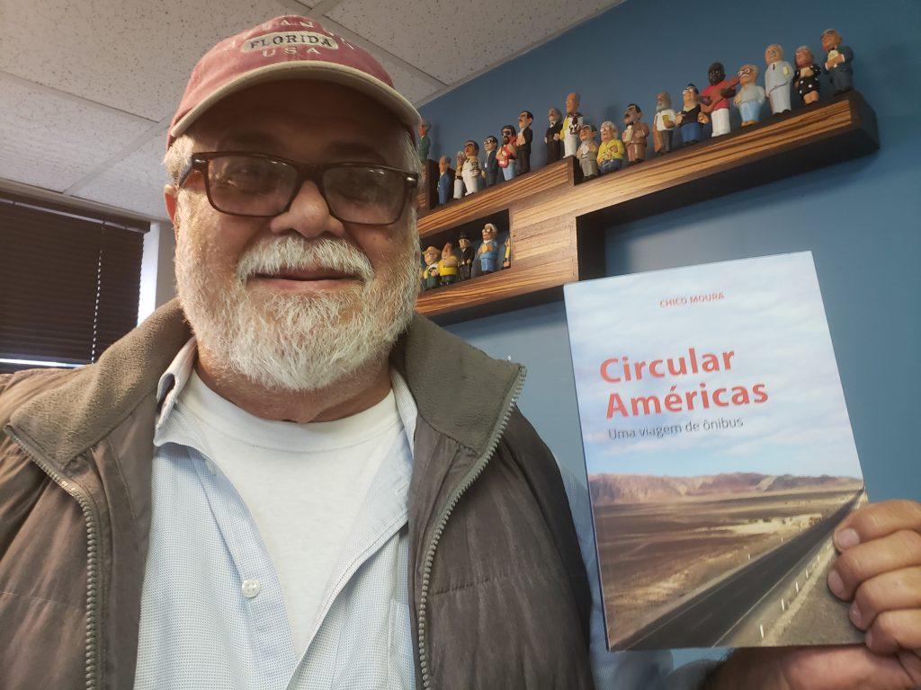 """20190404 152135 Chico Moura lança livro """"Circular Américas"""" em New Jersey"""