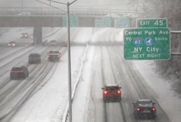 Upstate NY pode acumular 3 polegadas de neve neste fim de semana