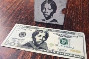 Artista cria selo 3D de abolicionista para nota de US$ 20