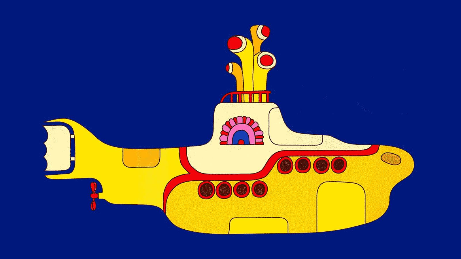 submar A Maria Fumaça e o Submarino Amarelo