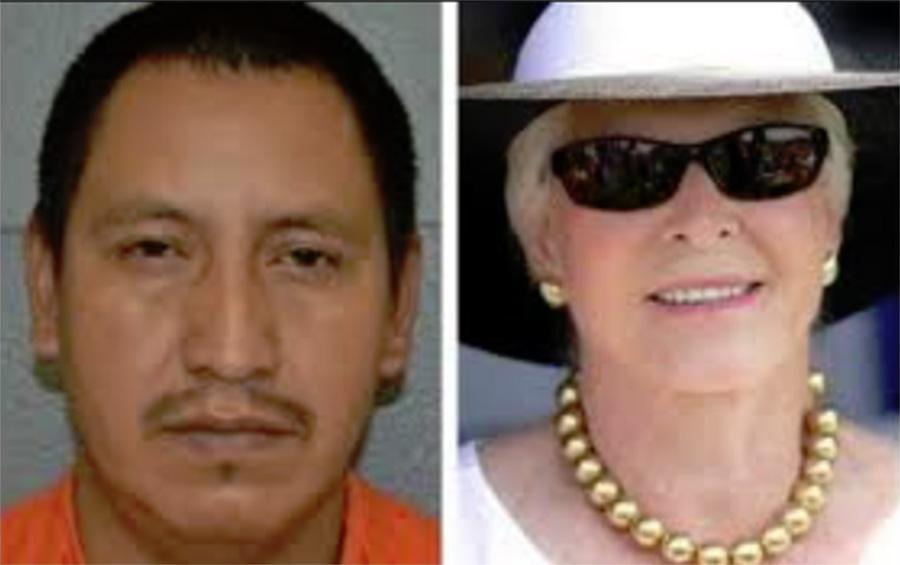 Foto10 Esdras Marroquin Gomes e Lois Colley Indocumentado pega 22 anos de prisão por matar ex patroa em NY