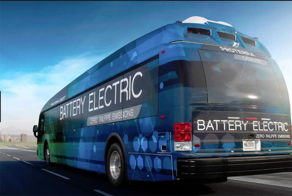 Foto16 Onibus eletrico Ônibus elétricos começam a circular em NJ