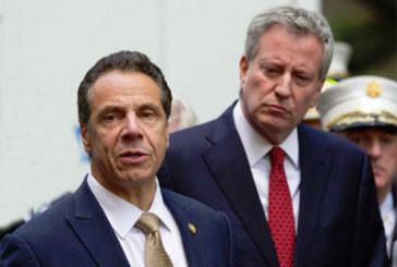 Cuomo e Blasio prometem combater batidas do ICE em NY
