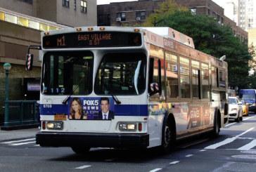 Novas câmeras multarão motoristas que bloquearem pistas de ônibus em NY