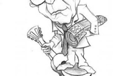 Um banquinho, um violão