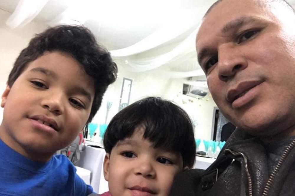 %name Família faz campanha para liberar brasileiro detido pelo ICE