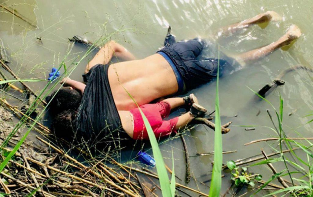 Foto2 Oscar Alberto Martinez Ramirez e Angie Valeria Menina brasileira de 2 anos desaparece em travessia do Rio Grande