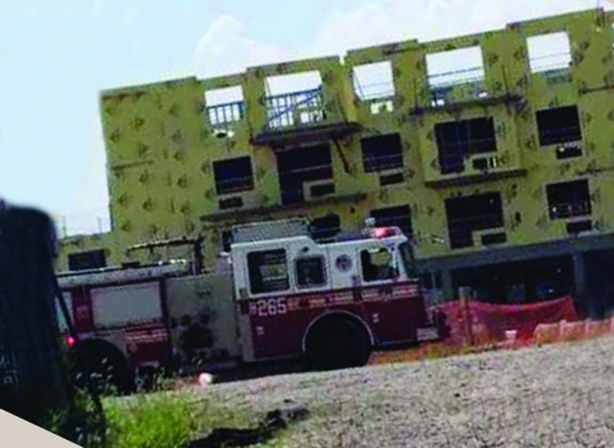 Foto31 Local do acidente Parede desaba em construção e mata brasileiro em Nova York