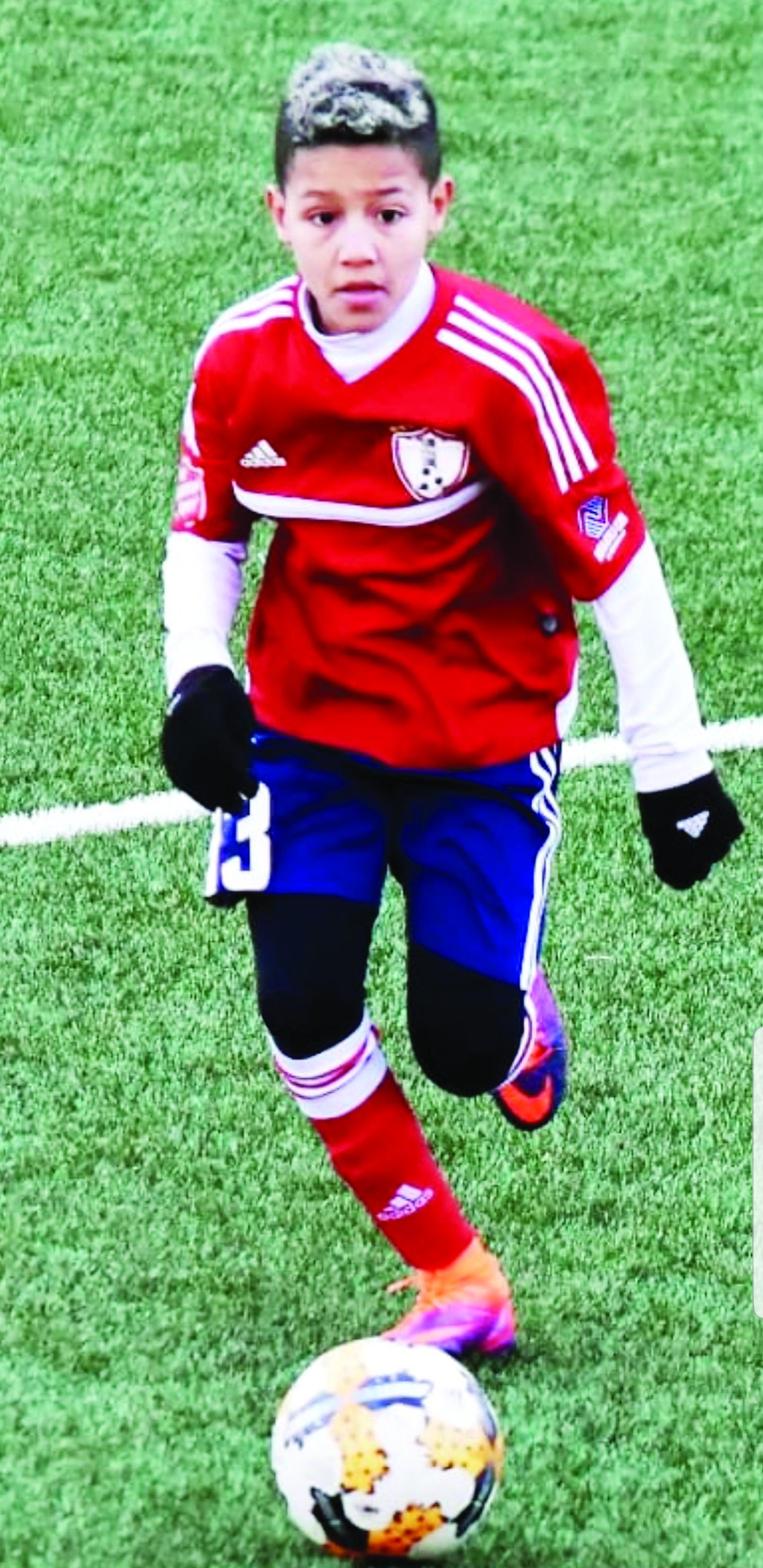 justin Brasileirinho é destaque no futebol em New Jersey