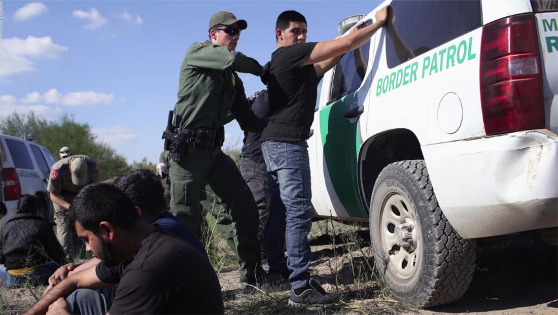 Foto28 Prisao na fronteira Cai o índice de prisões na fronteira dos EUA com o México em setembro