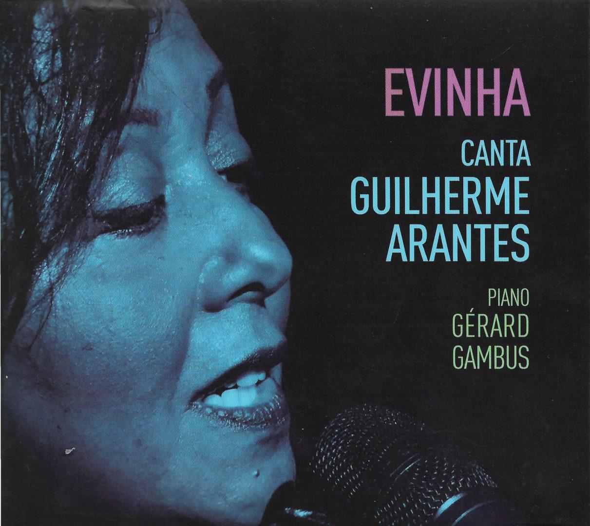 Capa CD Evinha canta Guilherme Arantes  Um CD elegante