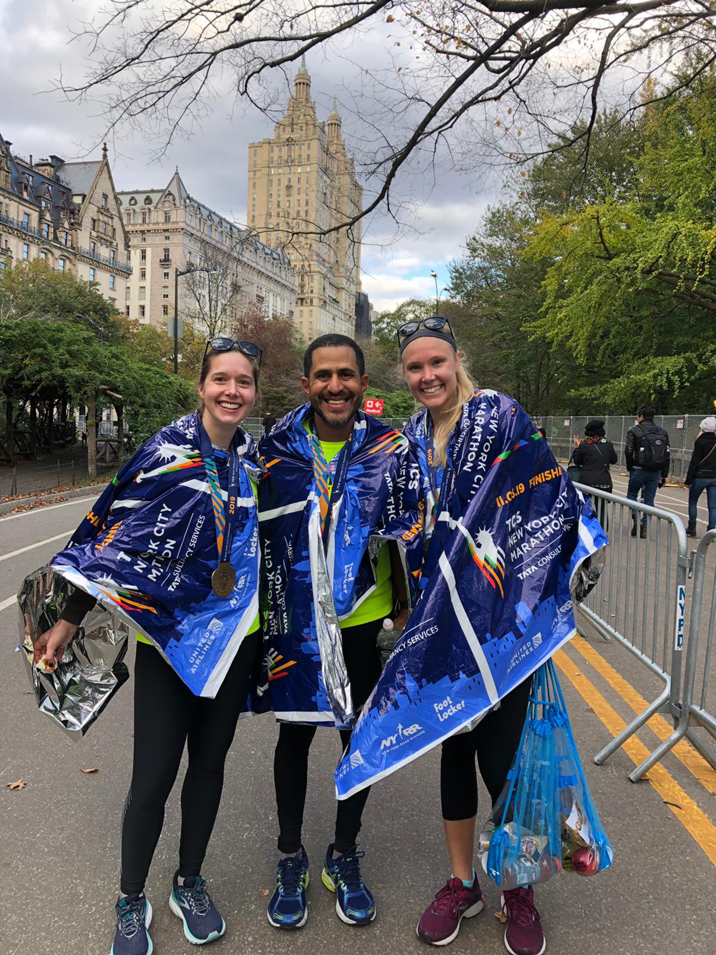 %name Brasileiro participa da Maratona de Nova York 2019