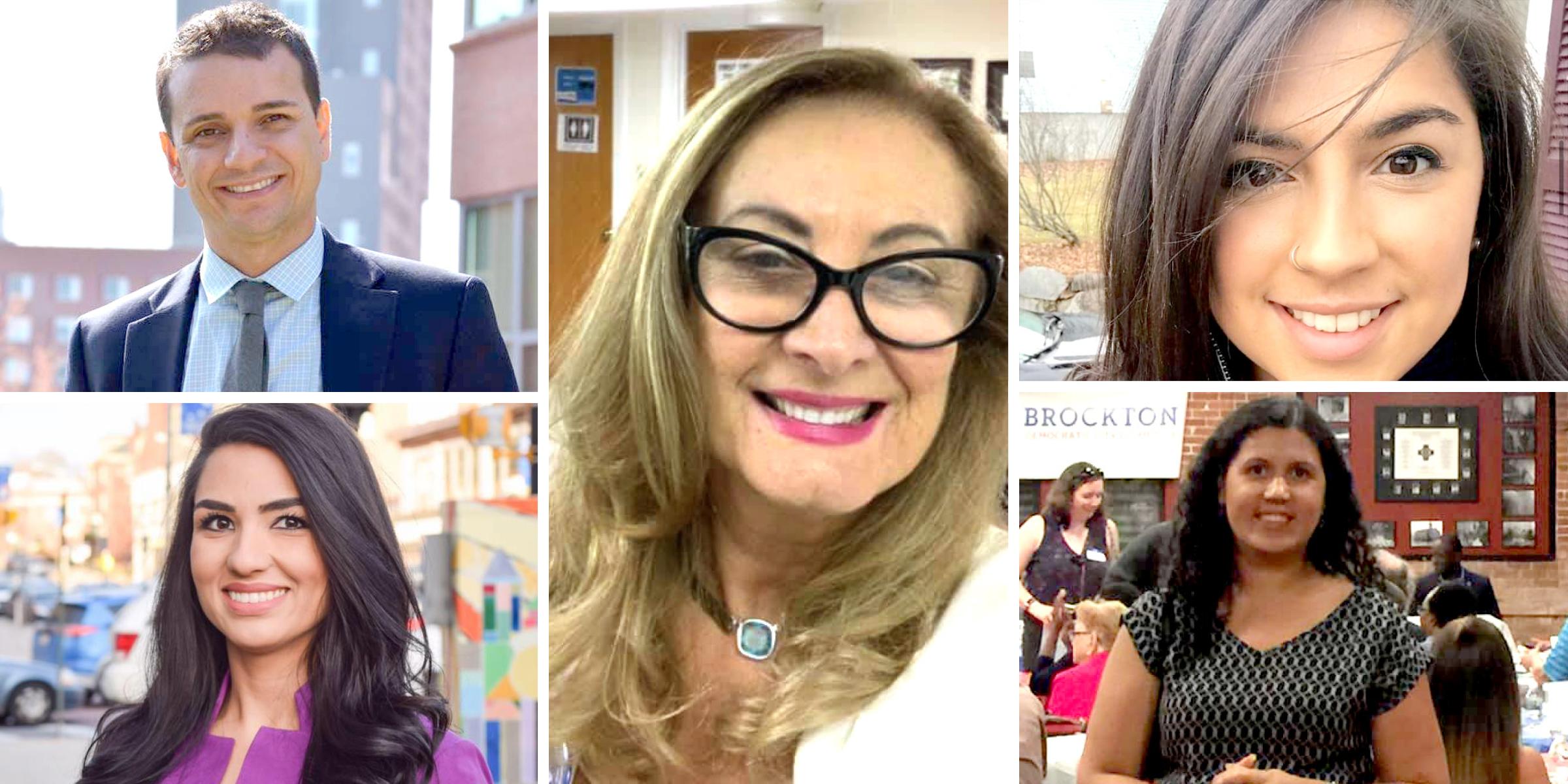 Foto2 Marcony Almeida Stephanie Martins Margareth Shepard e Priscila Sousa 5 brasileiros vencem as eleições em Massachusetts
