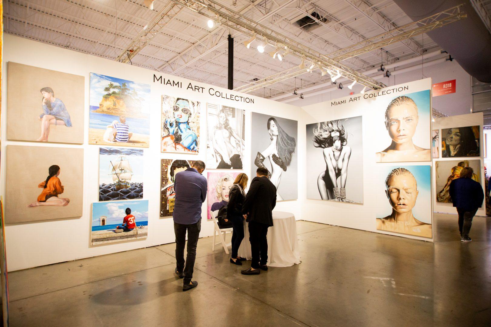 """Foto7 The Wall of Arts 2019  Brasileiros são destaque na """"The Wall of Arts 2019"""" nos EUA"""