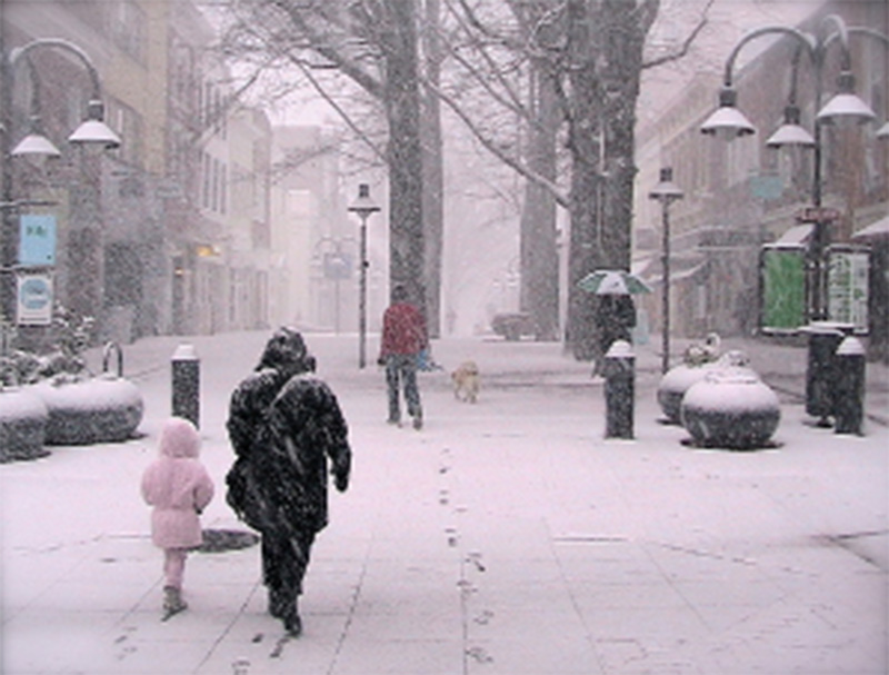Foto4 Dia com neve NJ: Autoridades prevêem neve, gelo e chuva para o final de semana