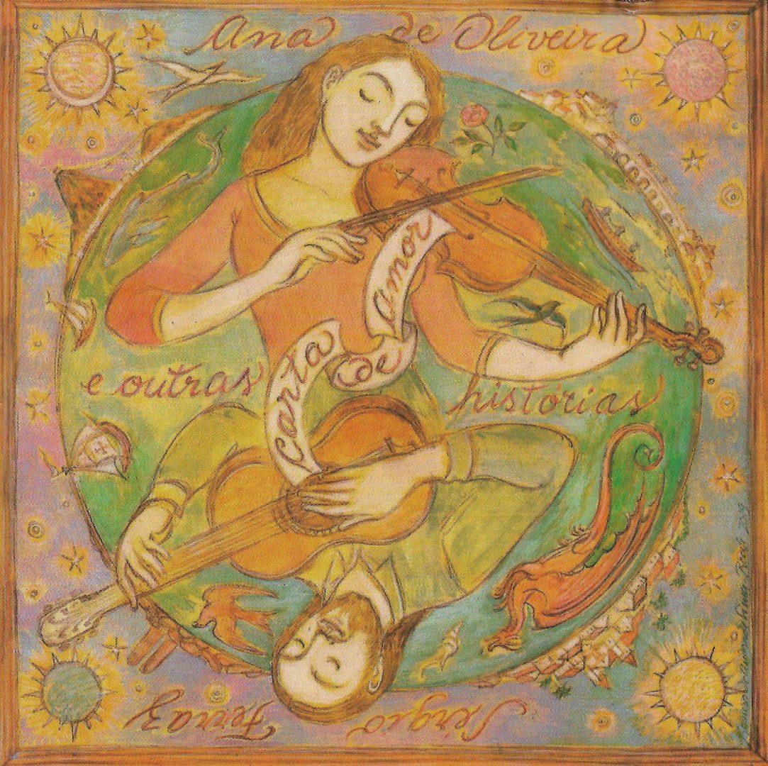 Capa CD Ana de Oliveira e Seergio Ferraz A magia da música instrumental brasileira