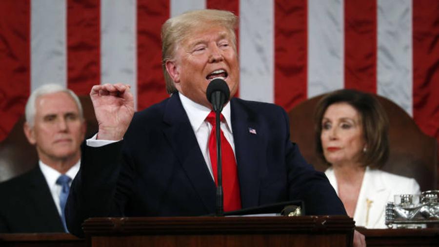Foto4 Donald Trump Presidente Trump é absolvido no processo de impeachment