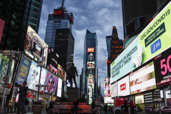 Nova-iorquinos terão multa de até US$ 500 se violarem quarentena