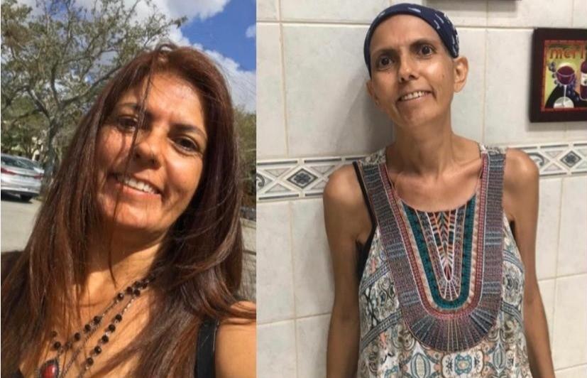 %name Ex imigrante pede ajuda na luta contra câncer de ovário