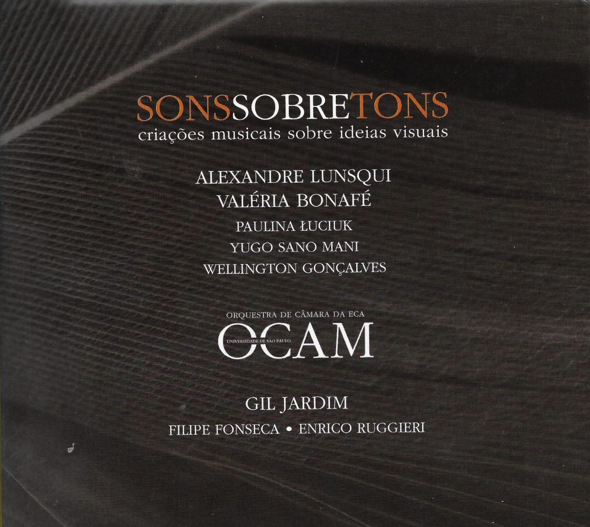 Capa CD Orquestra OCAM 002 Sonorizando imagens